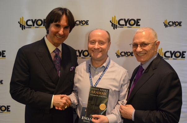 Ewan meeting Dr John DeMartini